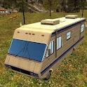 camping-car parking académie icon