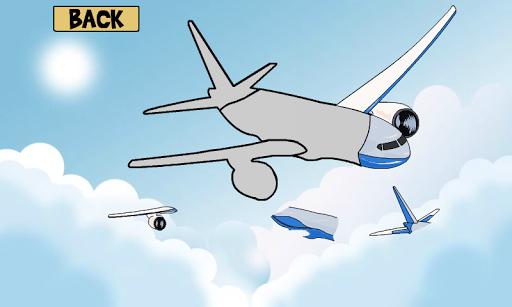 儿童拼图 - 飞机精简版