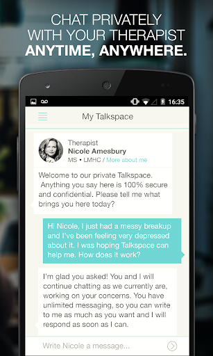 Talkspace: On-Demand Therapy