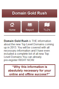 New Top Level Domains - FREE - screenshot thumbnail