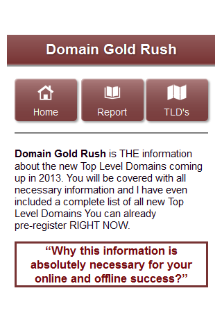 New Top Level Domains - FREE - screenshot