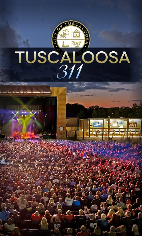 Tuscaloosa311 - screenshot