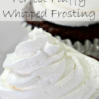 The Perfect Whipped Cream Frosting.