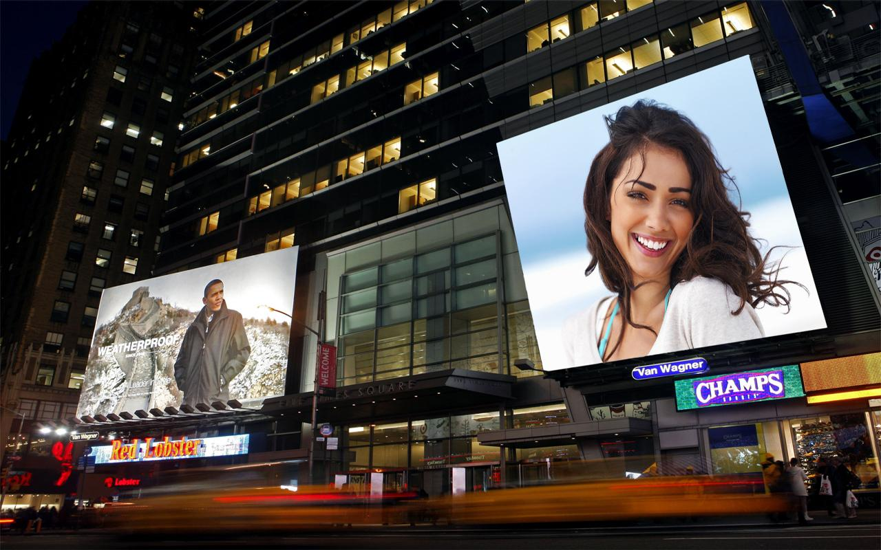 billboard photo frames screenshot
