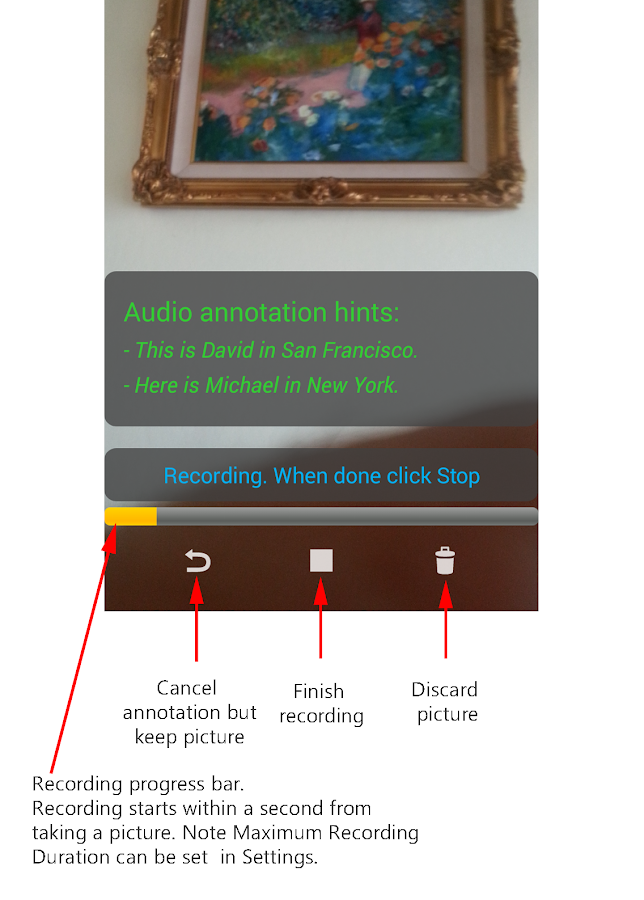Smile - Smart Photo Annotation - screenshot