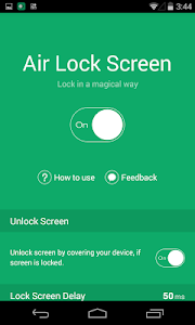 Air Lock Screen - Open Screen v1.2.16