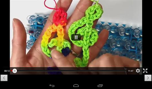 玩免費媒體與影片APP|下載Rainbow Loom New Designs app不用錢|硬是要APP