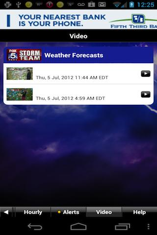 FOX 5 Storm Team - screenshot