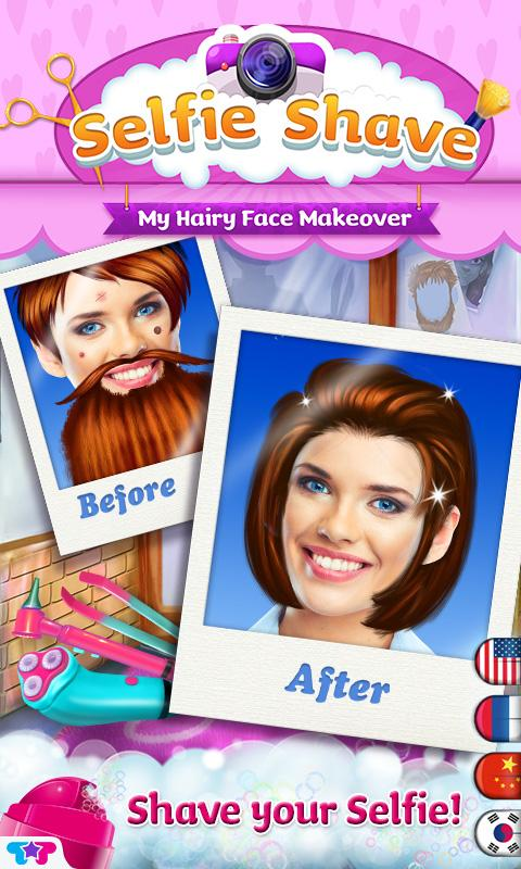 Selfie Shave -My Face Makeover- screenshot