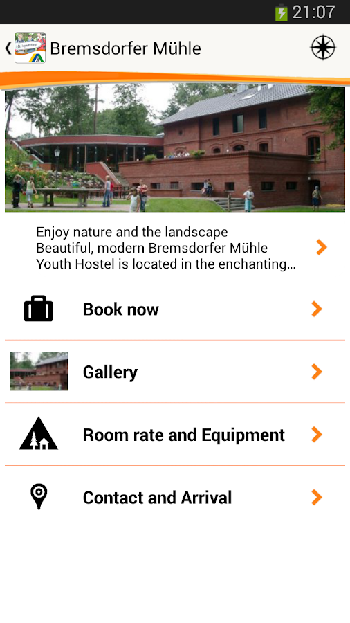 Youth Hostels in Germany- screenshot