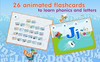 Screenshot of Montessori ABC Games 4 Kids HD