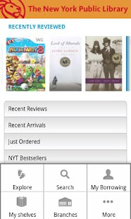 NYPL Mobile - screenshot thumbnail