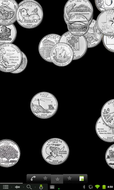 Coin Shower Live Wallpaper- screenshot