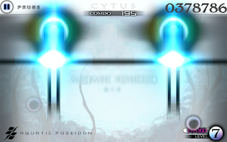 Screenshot of Cytus