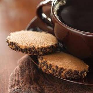 Coffee Spice Cookies.