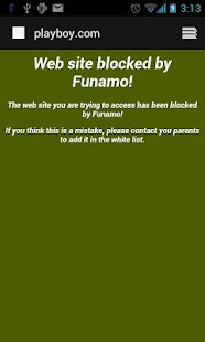 Funamo Parental Control - screenshot thumbnail
