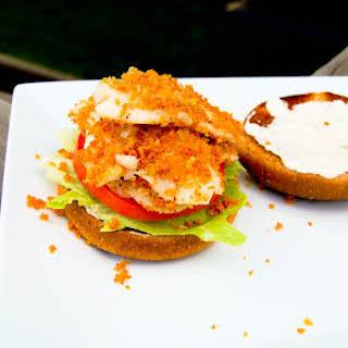 Flaky Fish Sandwich.