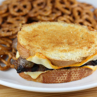 Bratwurst Grilled Cheese