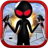 Crazy Shooting Stickman 2015