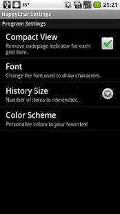 HappyChar- screenshot thumbnail