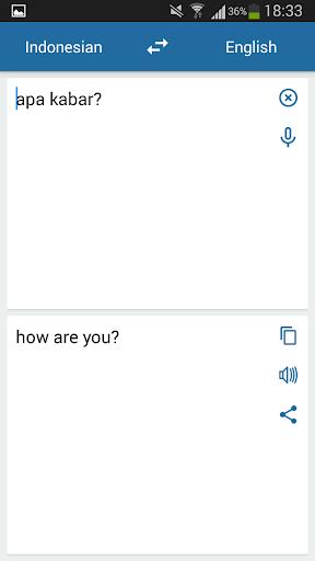 Indonesian English Translator 2.3.0 screenshots 3