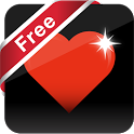 Bouncy Hearts Free LWP icon
