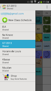 ClassShare Schedule- screenshot thumbnail