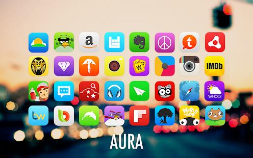 玩個人化App|Aura Go Apex Nova Theme免費|APP試玩