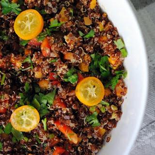 Zesty Red Quinoa Salad.