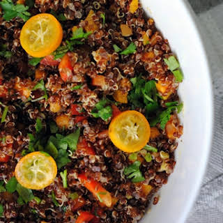 Zesty Red Quinoa Salad.