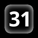 JP dates on status bar X icon
