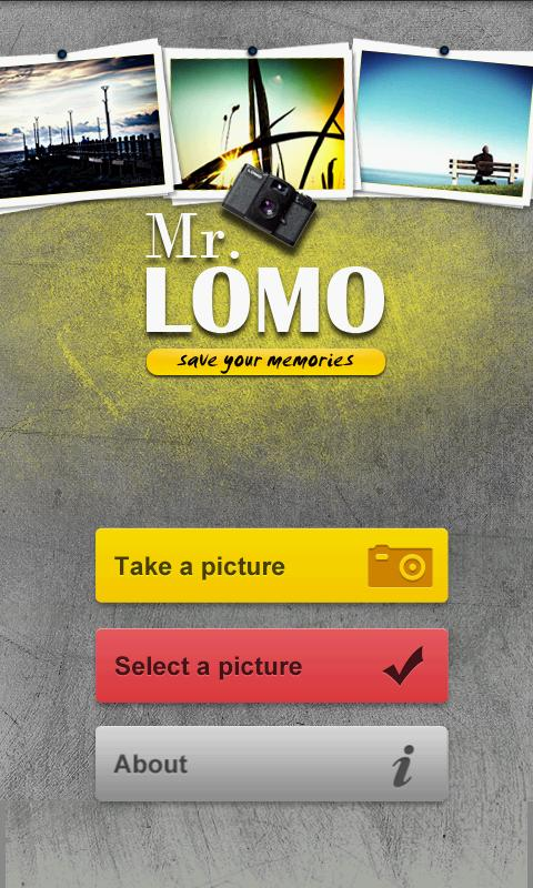 Mr. LOMO - screenshot