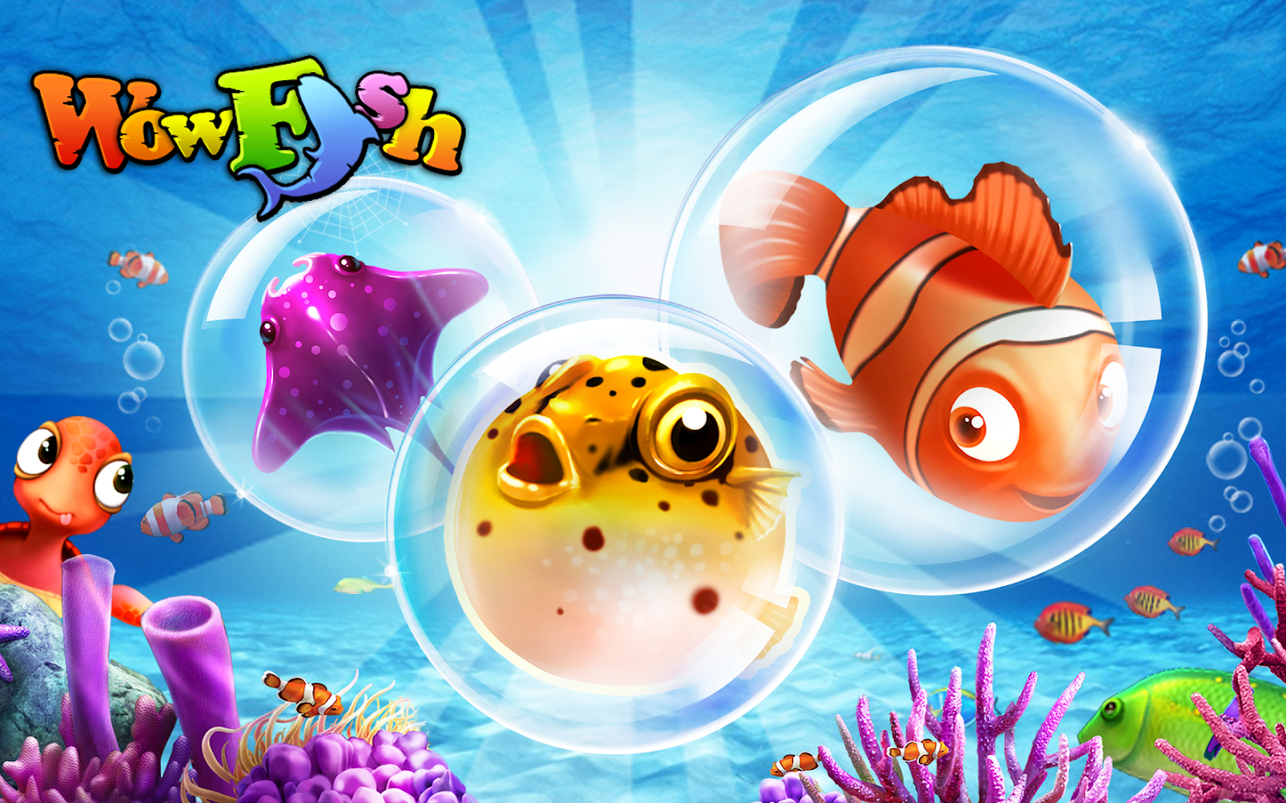Wow Fish - Free Game - screenshot