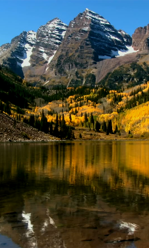 Lake in Alps Live Wallpaper