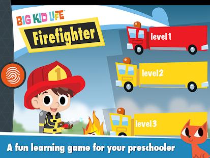 Big Kid Life Firefighter Full