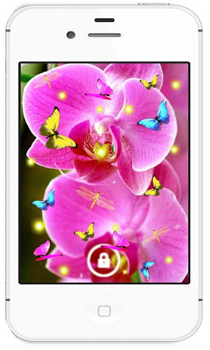 Orchide Nice HD live wallpaper