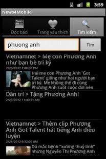 News4Mobile (Đọc báo-Tin tức) - screenshot thumbnail