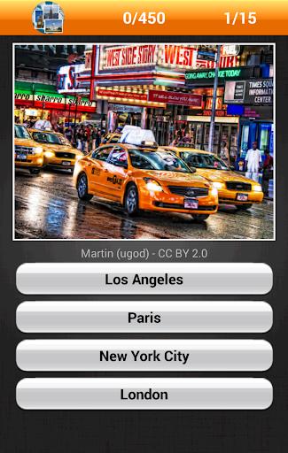 Errate die Stadt Bilder-Quiz