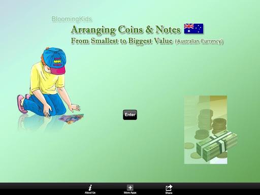 Arranging Australian Money