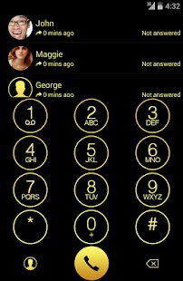 ExDialer OS 7.1 Gold Theme - screenshot thumbnail