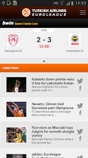 Euroleague Basketball - screenshot thumbnail