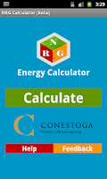 Screenshot of Predictive Energy Calculator