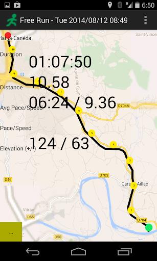 GPS Running Application