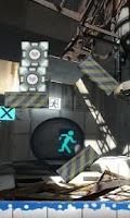 Screenshot of Portal 2 Gel Experiment