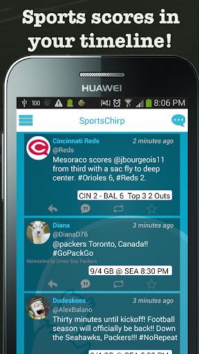 SportsChirp: Twitter Sports