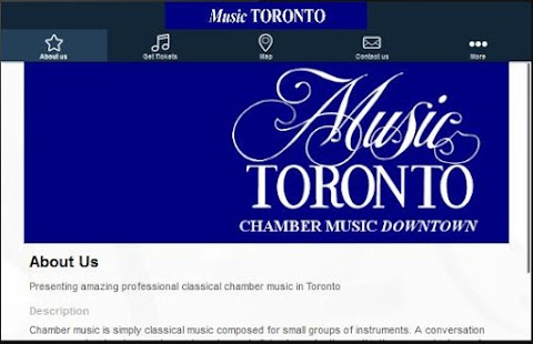 Music Toronto- screenshot thumbnail