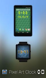 Pixel Art Clock Screenshot 1