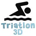 Triatlon Natação logo