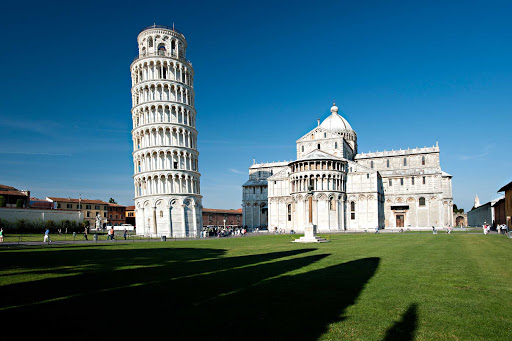Italy-Pisa-tower - Visit one of Italy's most famous attractions, the Leaning Tower of Pisa, on your next cruise.