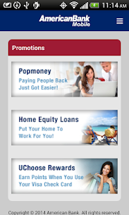 American Bank- screenshot thumbnail